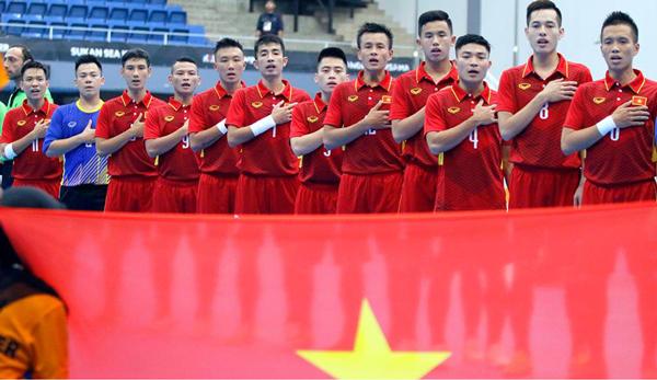 Danh sách ĐT Futsal Việt Nam tập trung chuẩn bị tham dự Asian Indoor Games 2017
