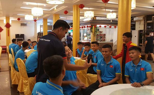ĐT U18 Việt Nam đã có mặt tại Myanmar, sẵn sàng bước vào thử thách