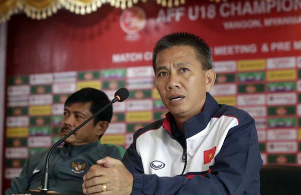 """HLV Hoàng Anh Tuấn: """"U18 Việt Nam sẽ nỗ lực để đi đến trận chung kết"""""""