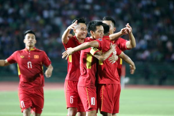[Vòng loại Asian Cup 2019] ĐT Việt Nam giành trọn 3 điểm trên sân Campuchia