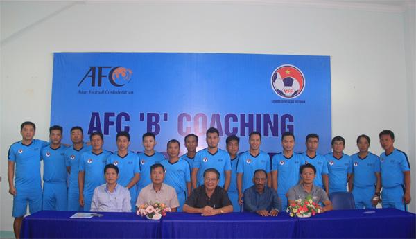 Khai giảng Khóa học HLV Chứng chỉ 'B' AFC 2017