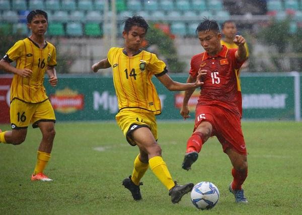 Thắng Brunei 8-1, U18 Việt Nam khởi đầu suôn sẻ tại Giải vô địch U18 AFF 2017