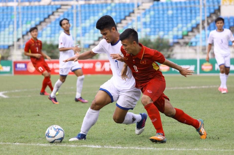 [U18 AFF 2017] Việt Nam 5-0 Philippines: 3 điểm và bảo toàn lực lượng