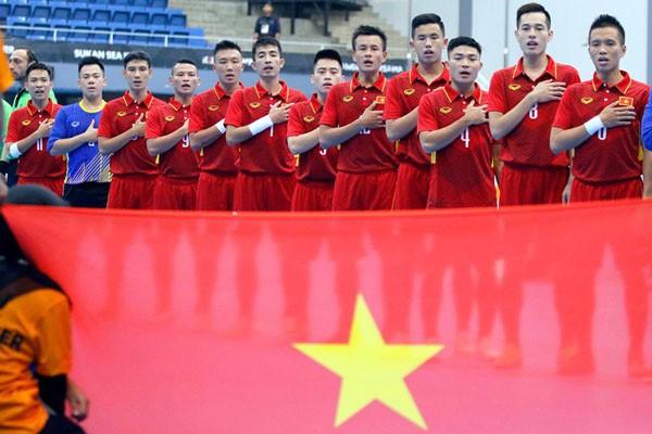 Danh sách chính thức ĐT Futsal Việt Nam tham dự Asian Indoor Games 2017