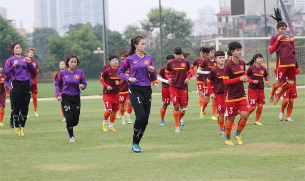 Ngày 15/9, ĐT U19 nữ QG tập trung chuẩn bị tham dự VCK châu Á 2017