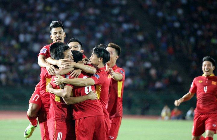BXH FIFA tháng 9/2017: ĐT Việt Nam tăng 4 bậc, xếp hạng 130 thế giới