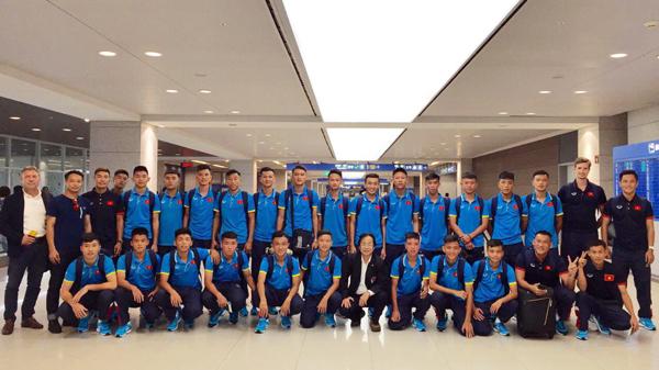 ĐT U16 Việt Nam đã có mặt tại Mông Cổ, sẵn sàng chinh phục vòng loại U16 châu Á