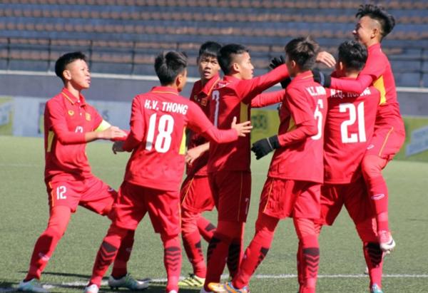 U16 Việt Nam ra quân thắng lợi tại Vòng loại U16 châu Á 2018