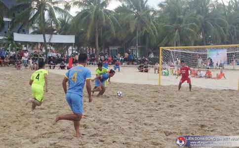 Lịch thi đấu Giải bóng đá bãi biển VĐQG 2017