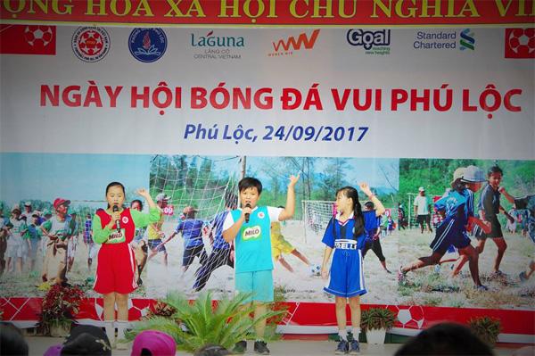 Ngày hội bóng đá vui Phú Lộc: Gắn quyền lợi doanh nghiệp với hoạt động bóng đá cộng đồng