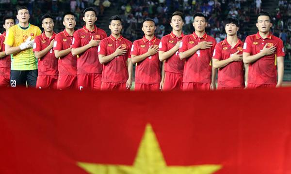 Danh sách ĐTQG tập trung đợt 4/2017 (thi đấu Vòng loại Asian Cup 2019)