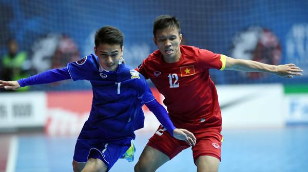 Lịch thi đấu Giải vô địch futsal Đông Nam Á 2017