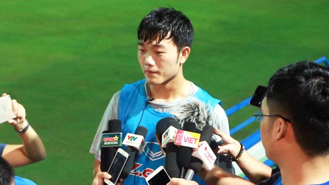 """Tiền vệ Lương Xuân Trường: """"Tôi đã sẵn sàng cho trận đấu với Campuchia"""""""