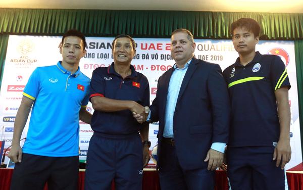 Phát biểu trước trận đấu: Việt Nam quyết thắng, Campuchia muốn gây bất ngờ