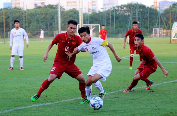 Đấu tập, U19 Việt Nam 1-1 U21 Viettel: Thêm cữ dượt hữu ích