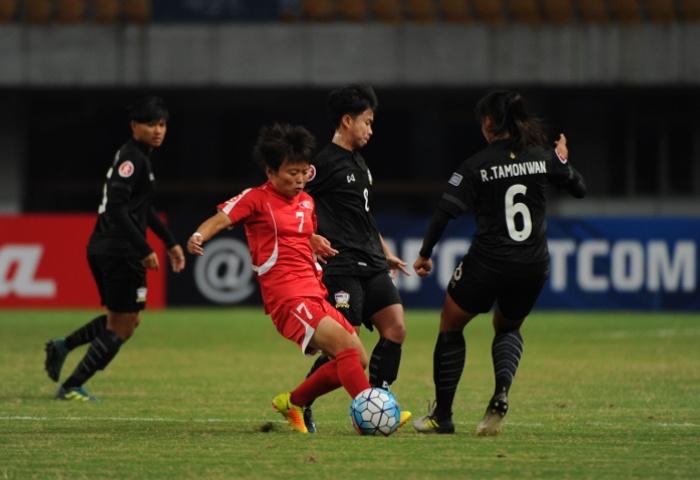 Khởi tranh VCK U19 nữ châu Á 2017: Thái Lan thua đậm trận ra quân