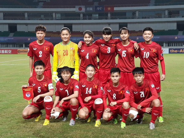 VCK U19 nữ châu Á 2017 (bảng B), Việt Nam vs Nhật Bản: 0-8