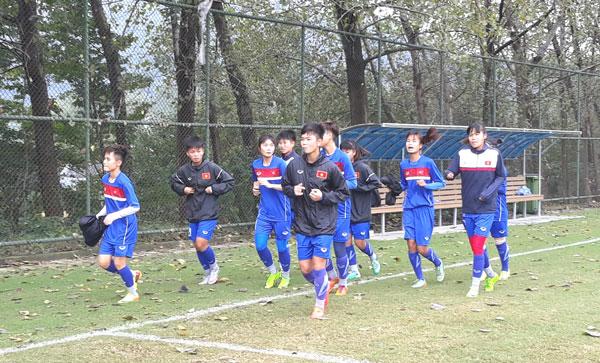 Đội tuyển U19 nữ Việt Nam thả lỏng, tập trung cho trận đấu gặp U19 nữ Hàn Quốc
