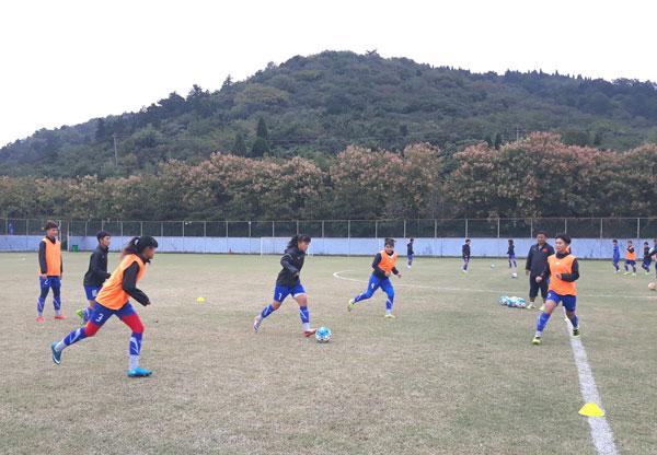 VCK U19 nữ châu Á 2017 (bảng B): 14h ngày mai (19/10), Việt Nam gặp Hàn Quốc