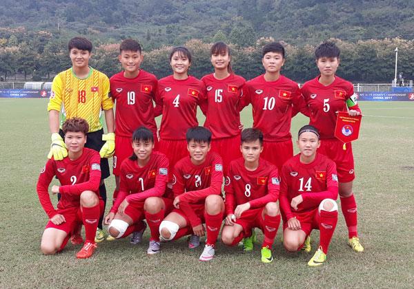 VCK U19 nữ châu Á 2017 (bảng B), Việt Nam vs Hàn Quốc: 0-5