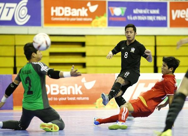 Giải futsal vô địch Đông Nam Á Cúp HDBank 2017: Thái Lan vào chung kết