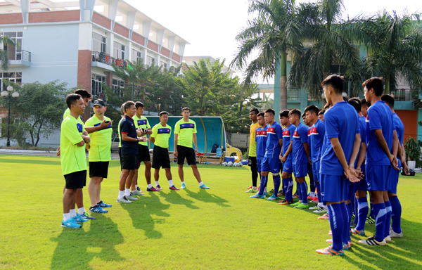 Hôm nay đội tuyển U19 nam Quốc gia lên đường tham dự vòng loại U19 châu Á 2018