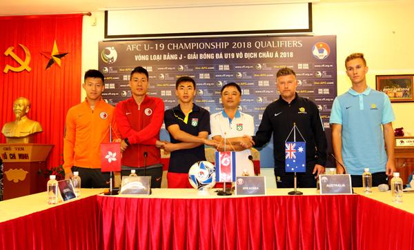 Bảng J vòng loại U19 châu Á 2018: Các đội đặt quyết tâm giành vé dự VCK