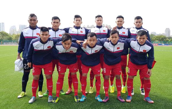 U19 Việt Nam giành trọn 3 điểm trong trận ra quân tại Vòng loại châu Á 2018