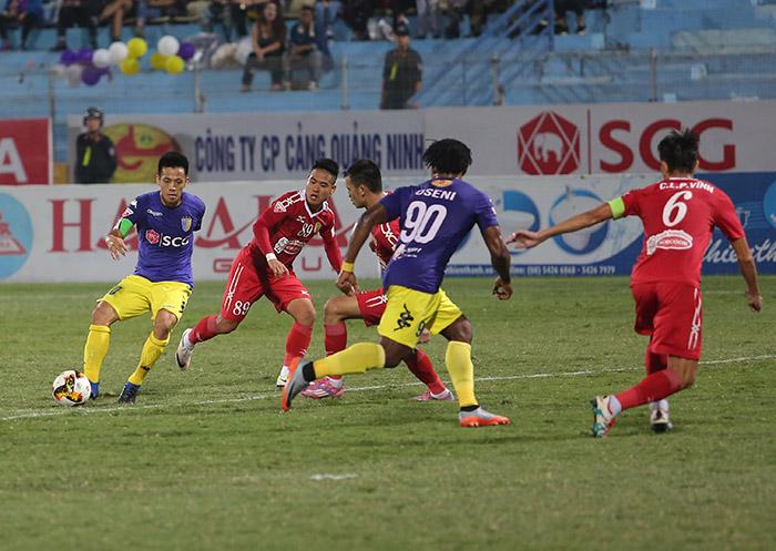 Vòng 24 Toyota V-League 2017: Hà Nội tạm chiếm ngôi đầu