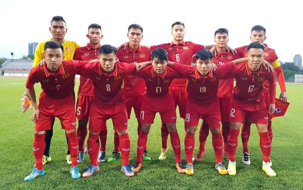Thắng Đài Bắc Trung Hoa 2-1, U19 Việt Nam sớm giành vé vào VCK châu Á 2018
