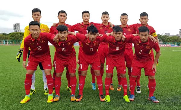 Vượt qua Lào 4-0, U19 Việt Nam toàn thắng tại Vòng loại châu Á 2018