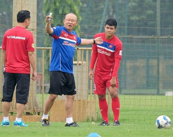 Thông tin HLV trưởng Park Hang Seo đến trễ buổi tập của ĐT Việt Nam là không chính xác