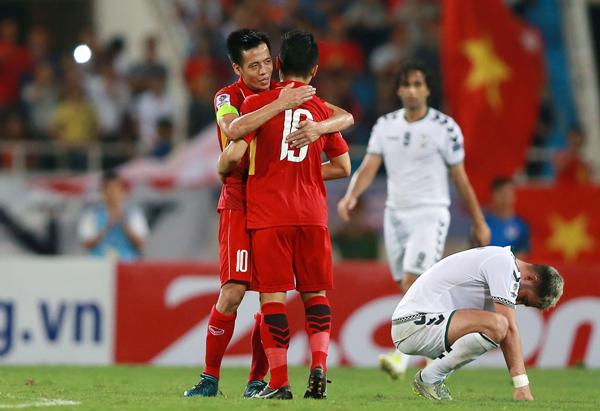 Hòa Afghanistan, ĐT Việt Nam giành vé tham dự VCK Asian Cup 2019