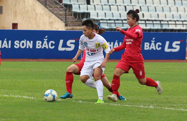 Lượt về giải BĐ nữVĐQG - Cúp Thái Sơn Bắc 2017 (19/11): Chủ nhà PP Hà Nam củng cố vị trí nhì bảng