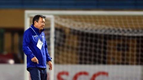 HLV Hoàng Văn Phúc: 'Chúng tôi phải nhanh chóng động viên cầu thủ cho trận cuối'