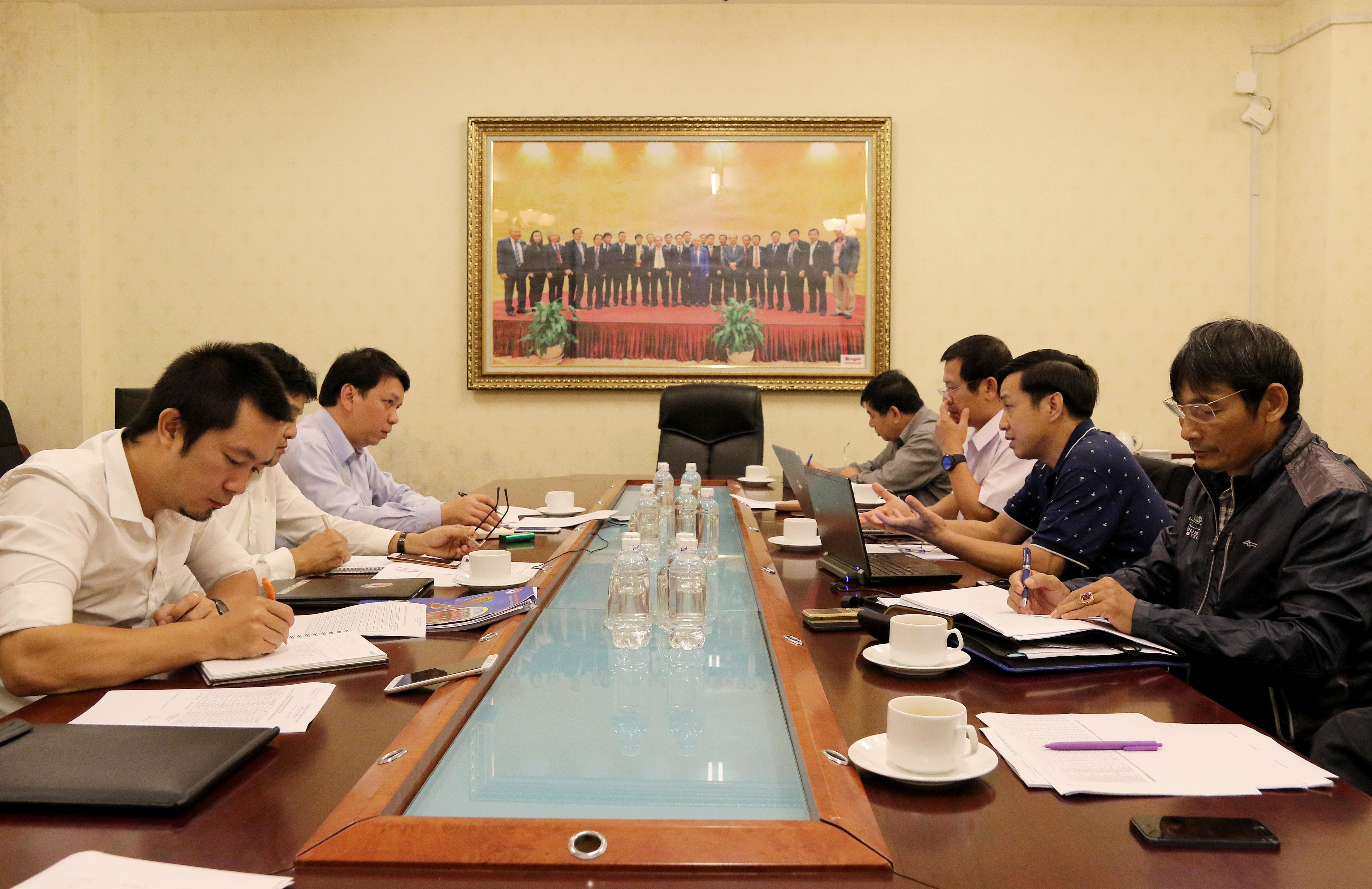 Ban trọng tài họp tổng kết hoạt động năm 2017 và xây dựng kế hoạch 2018
