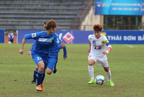 Lượt về giải BĐ nữ VĐQG - Cúp Thái Sơn Bắc 2017 (23/11): Hà Nội I giành vé thứ tư vào bán kết