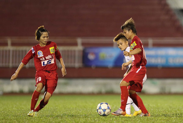 Lượt về giải BĐ nữ VĐQG - Cúp Thái Sơn Bắc 2017 (26/11): Hà Nội I nhẩy lên vị trí thứ 2