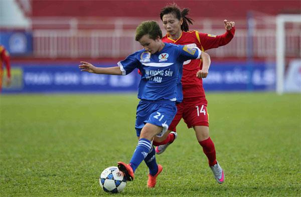 Trước 2 trận bán kết giải BĐ nữ VĐQG - Cúp Thái Sơn Bắc 2017: Kịch tính và khó đoán