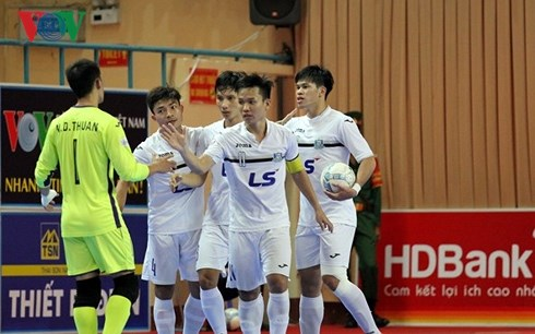 Khởi tranh giai đoạn 2 Giải futsal Cúp QG HDBank 2017: Thái Sơn Nam thắng thuyết phục