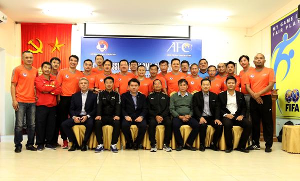 Khai giảng khoá đào tạo HLV bóng đá chuyên nghiệp AFC 2017 – giai đoạn 4