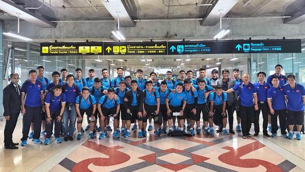 ĐT U23 Việt Nam lên đường tham dự M-150 Cup Thái Lan 2017
