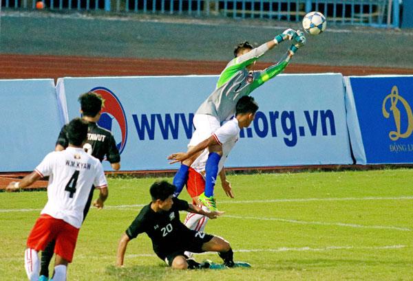 U21 Quốc tế - Báo Thanh Niên 2017: U21 Thái Lan bại trận trước U21 Myanmar