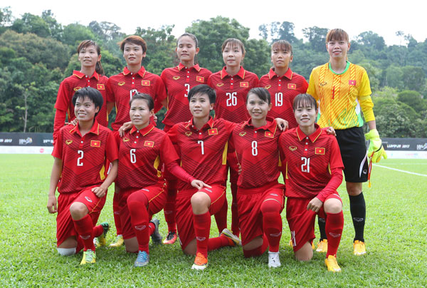 BXH FIFA quý IV/2017: Đội tuyển nữ Việt Nam đứng thứ hạng 32
