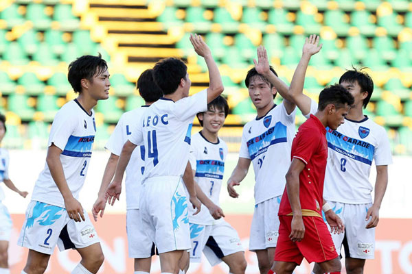 U.21 quốc tế 2017: 'Hủy diệt' Myanmar, Yokohama tiếp tục toàn thắng