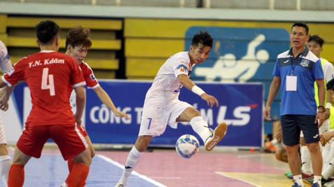 Hai đội bóng của bầu Tú gặp nhau ở chung kết futsal LS 2017
