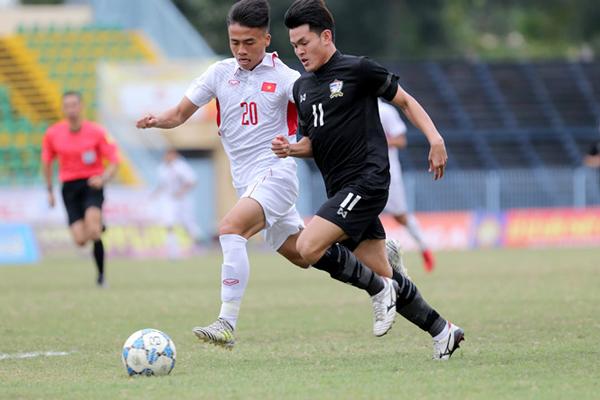 U.21 quốc tế 2017: U.19 Việt Nam cầm chân người Thái