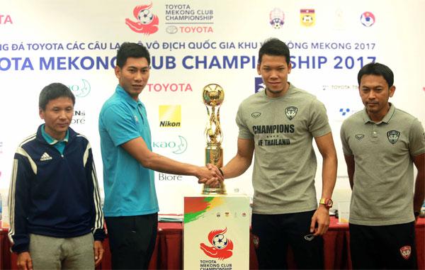 Sanna.KH hạ quyết tâm đánh bại Muangthong Utd ở chung kết lượt đi Mekong Cup 2017