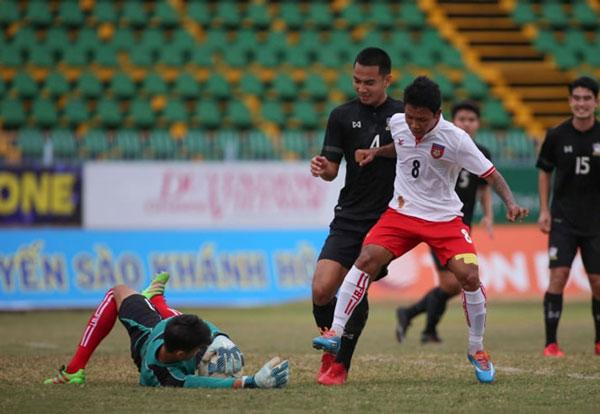 U.21 quốc tế 2017: Thái Lan lại bị Myanmar khuất phục
