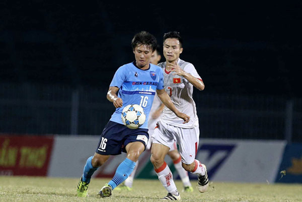 Thắng U.21 Việt Nam 2-0, Yokohama đăng quang tại U.21 quốc tế 2017